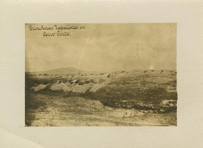 Trincheras zapatistas en Cerro Gordo