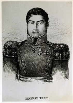 Retrato de Antonio de León, dibujo