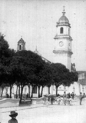 """""""Torre del reloj público"""", vista parcial"""