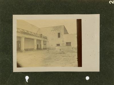 Casa que perteneció a Morelos, vista del patio