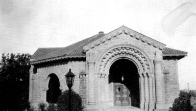 Casa habitación, fachada principal