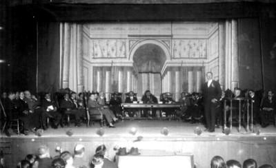 Ceremonia celebrada en el Teatro Jalapa