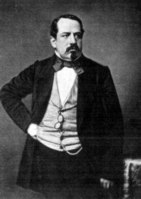 Litografía del general Manuel Robles Pezuela, reprografía