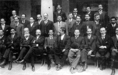 Diputados Constituyentes, retrato de grupo