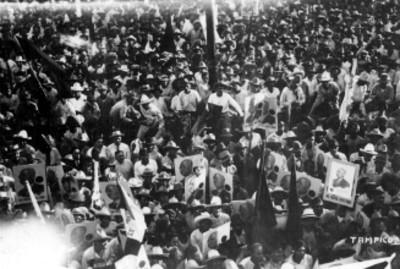 Partidarios de Pascual Ortiz Rubio en Tampico