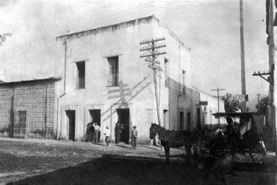 Casa en que fue aprehendido el Gobernador de la provincia de Coahuila D. Pedro Aranda