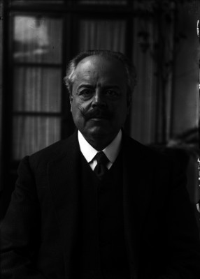 Luis García Pimentel, directivo del Partido Católico Nacional, retrato