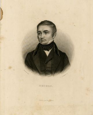 Adolphe Thiers, litografía