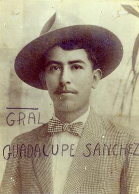 """""""General Guadalupe Sánchez"""", retrato"""