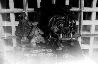 Imágenes y objetos religiosos, lote