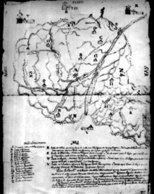 Mapa de la Jurisdicción de la Villa de Colima
