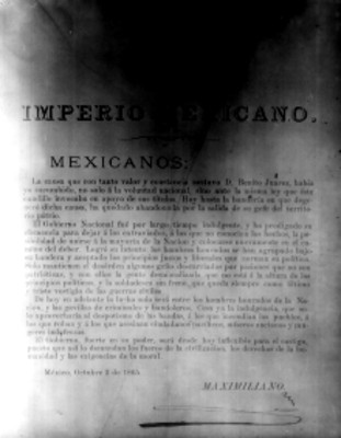 Decreto de Maximiliano