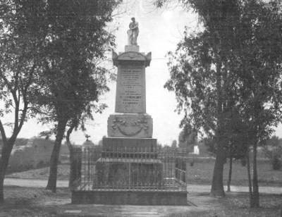 Monumento a los Heroes de Churubusco, vista general