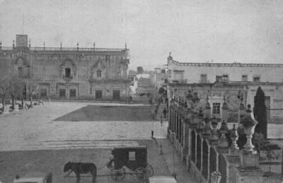 """""""Palacio de Gob. de Aguascalientes"""", fachada"""