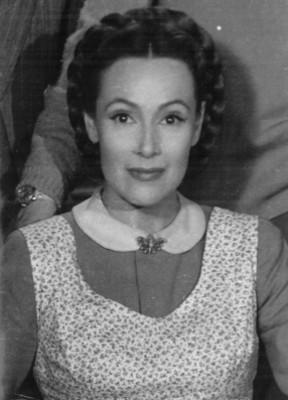 Actriz Dolores del Río, retrato