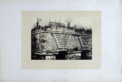 Edificio este del Cuadrángulo de las Monjas antes de su restauración