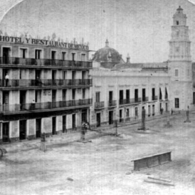Plaza principal, vista parcial