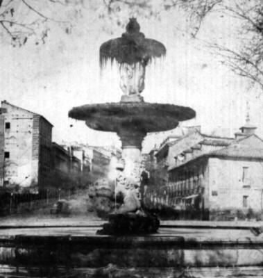 Fuente de la Alcachofa y Olla de Atocha