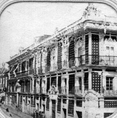 Museo casa del alfenique, fachada