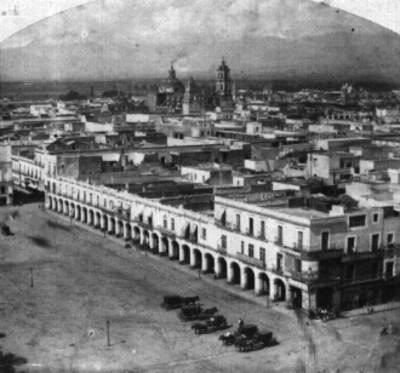 Portales de la Plaza de Santo Domingo