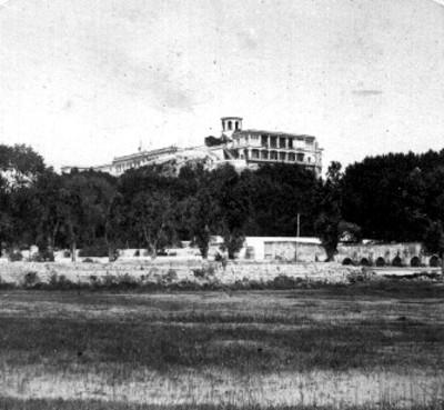 México-Alrededores. Palacio de Chapultepec (sic)