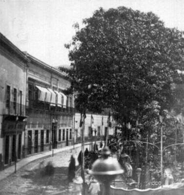 Jardín de la Unión, vista parcial