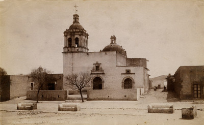 """Iglesia de San Francisco de Asís, """"5214. Church of San Francisco. Chihuahua"""""""