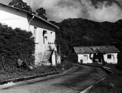 Casas en el campo, fachadas