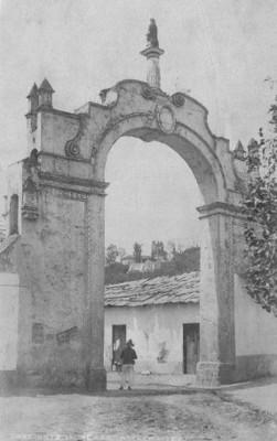 Arco de San Sebastián de Aparicio, Amecameca