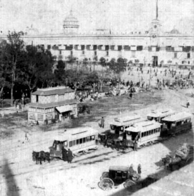 """""""Plaza de Armas, México"""", estereoscópica"""