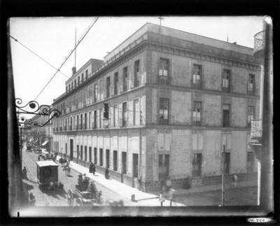 Edifico en el centro de la ciudad de México