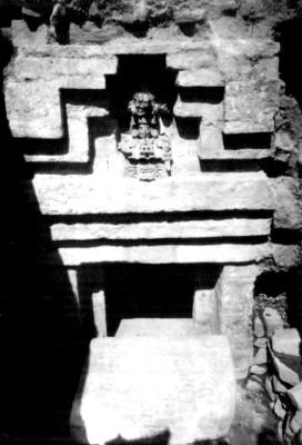 Entrada de la tumba 104, Monte Albán
