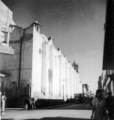 Convento de Santa Catalina, exterior, vista lateral