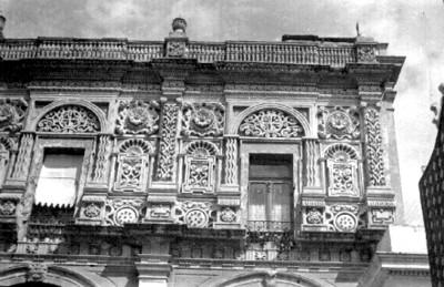 Antigua portería del monasterio en la Iglesia de Santo Domingo, Puebla