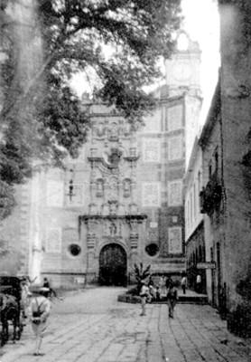 """Fachada principal de la Iglesia de """"San Francisco, Puebla"""""""