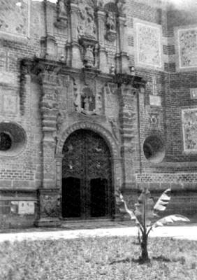 """Iglesia de """"San Francisco"""", fachada Principal"""