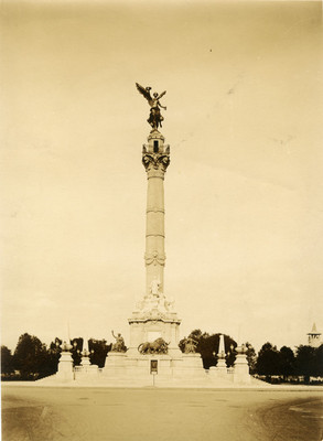 Columna del Ángel de la Independencia, vista general