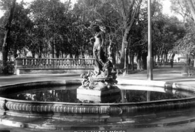 Fuente de Venus en la Alameda Central, vista frontal