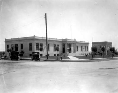 Palacio de Justicia y estación de bomberos, Mexicali