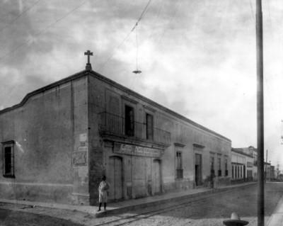 Tienda Las Novedades ubicada en la calle Leandro Valle