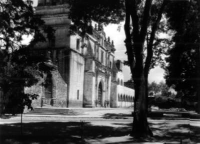 Iglesia de San Juan Bautista en Coyoacán, ciudad de México