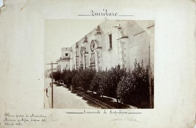 """Ex convento de capuchinas"""", """"ultima prision de Maximiliano, Miramón y Mejía"""