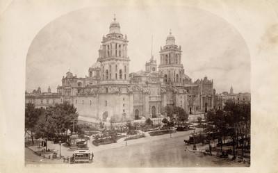 """Catedral de la ciudad de México, """"5274. Mexico. The Cathedral"""""""