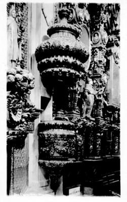 Pulpito de la Iglesia de Santa Clara, Querétaro