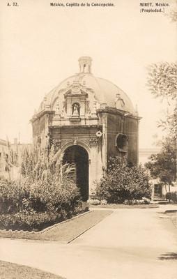 """""""Capilla de la Concepción"""", vista general"""