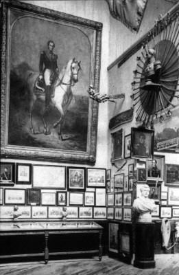 Sala del Museo Real del Ejercito de Brucelas, Bélgica