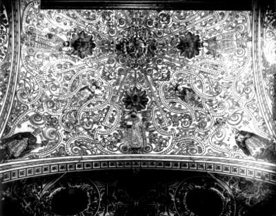Bóveda del presbisterio del Templo de Santo Domingo