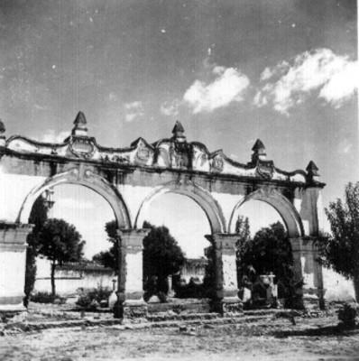 Arcos de la Parroquia de Santa María Magdalena en San Simón de Bravo, Puebla