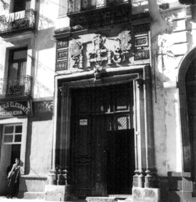Fachada de casa ubicada en la Avenida 5 Poniente, Puebla