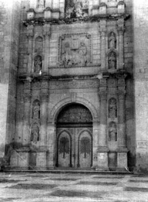 Portada del Ex convento de Santo Domingo, Oaxaca